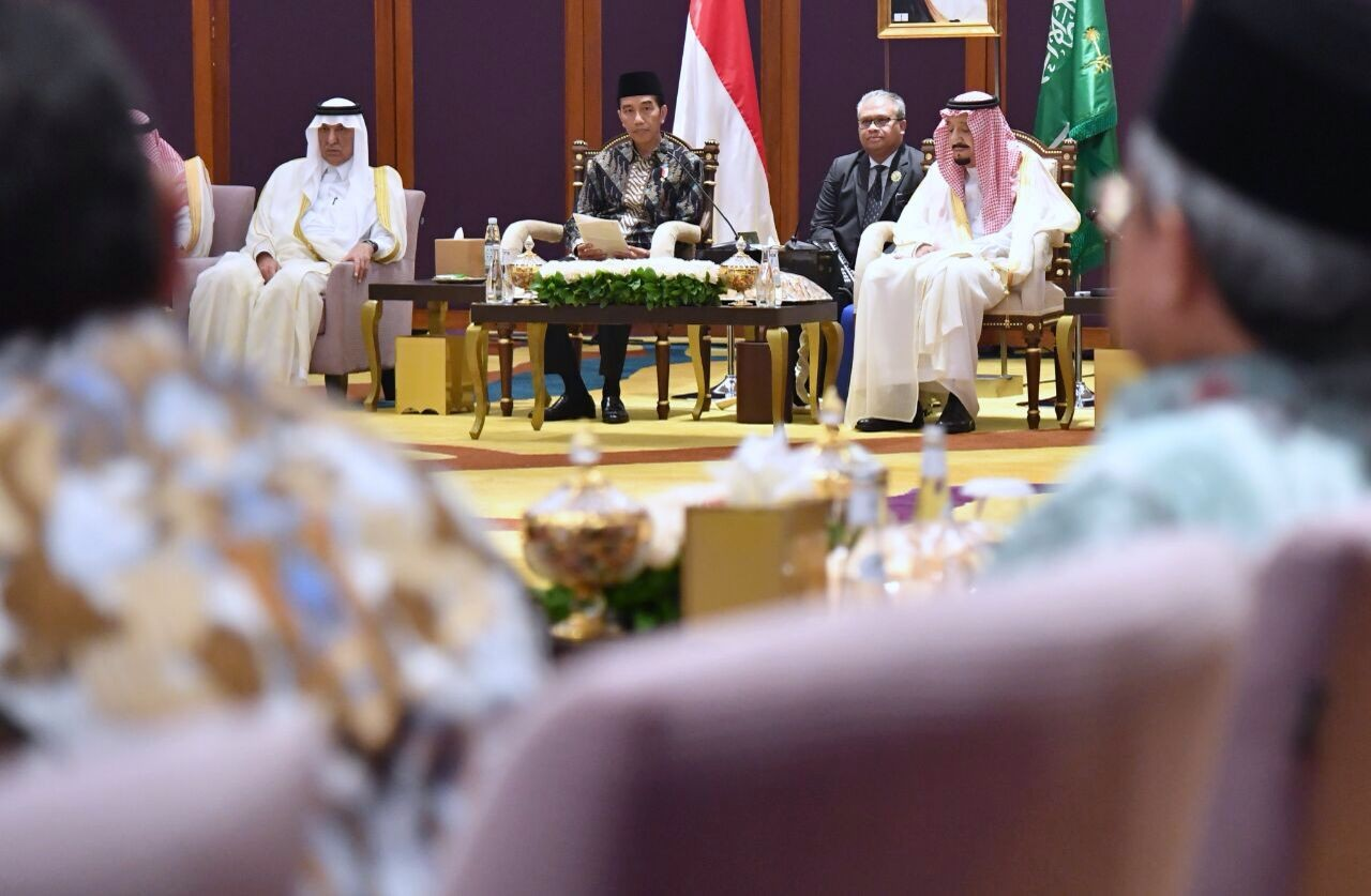 "SAUDI KING'S ""CLASH OF CIVILIZATIONS"", CONVERGENCE WITH INDONESIA'S HYPOCRISY AND OPPORTUNISM"