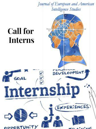 RIEAS PART - TIME REMOTE INTERNSHIPS FOR THE JOURNAL OF EUROPEAN AND AMERICAN INTELLIGENCE STUDIES (JEAIS)
