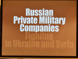 "HOW TO DEFEND RUSSIA'S ""PRIVATE MILITARY COMPANIES"" IN SYRIA? WRITE A SONG"