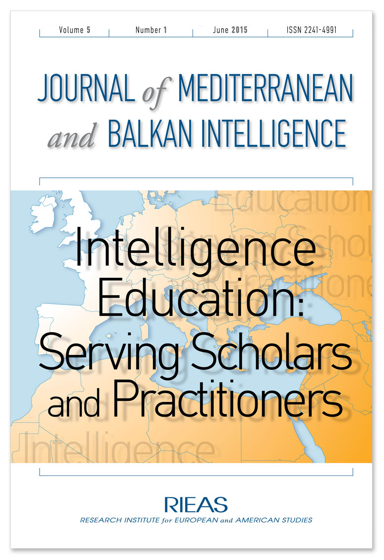 INTELLIGENCE EDUCATION: SERVING SCHOLARS AND PRACTITIONERS