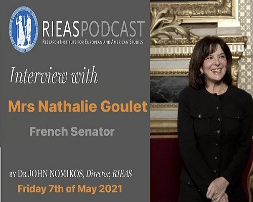Interview with Mrs. Nathalie Goulet, French Senator