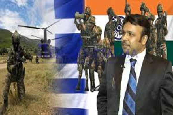 "Ajay Kumar to Pentapostagma: ""Greece must establish military alliance with India to oppose Turkish-Pakistani axis"""